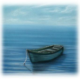 Boat on a Lake by Cherie Roe Dirksen