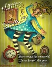 Alice Birthday ecard