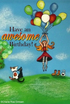 Have an Awesome Birthday ecard