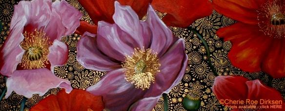 Poppy Banner by Cherie Roe Dirksen