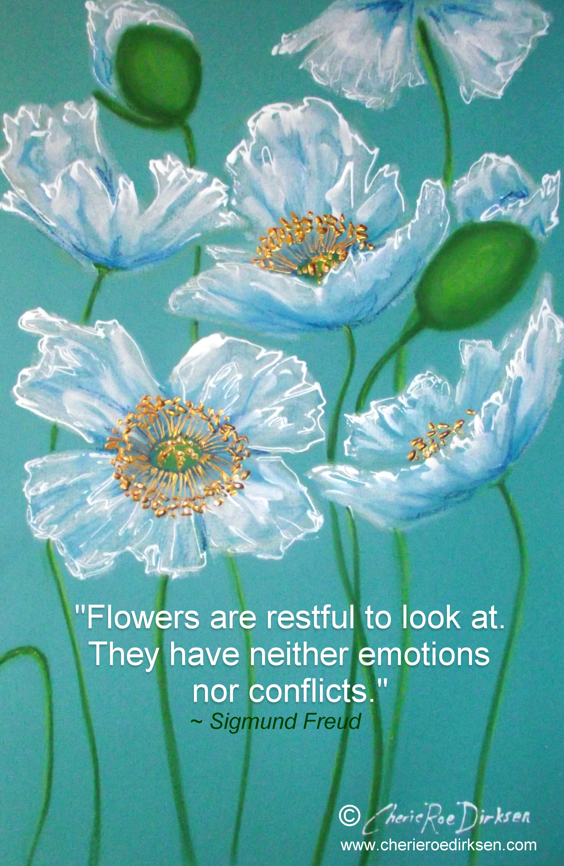 Floral Art Quotations Cherie Roe Dirksen