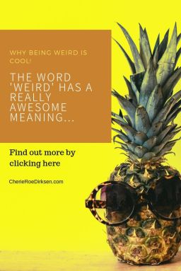 You won't believe what the etymology of weird is!