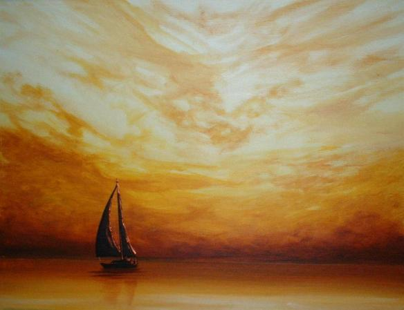 Golden Sunset Sailing