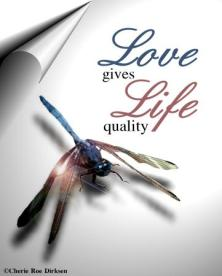 Love gives Life quality ecard