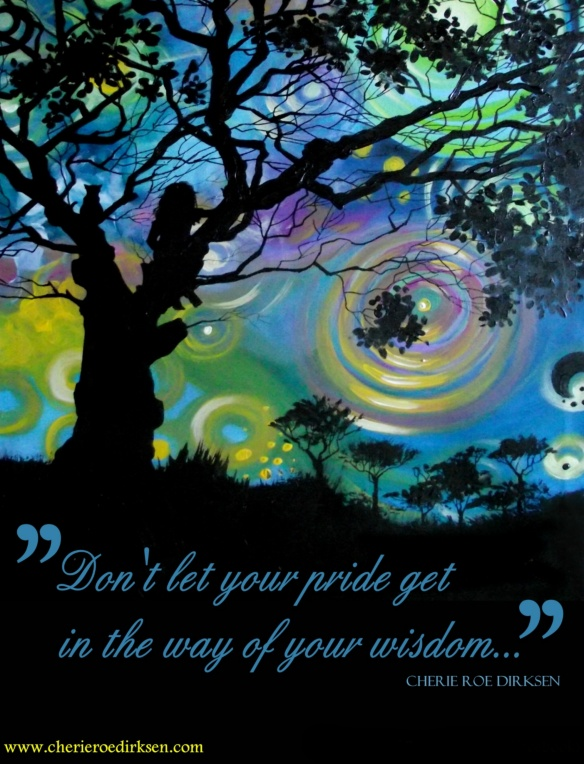 Wisdom vs Pride Quote