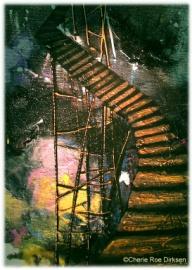 Leap of Faith by Cherie Roe Dirksen - the ladder
