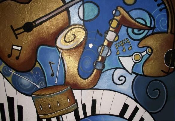 Musical Mural - Cherie Roe Dirksen