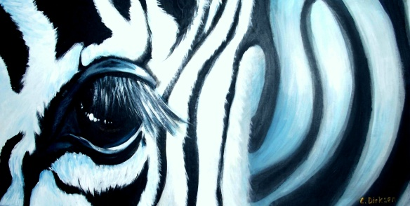 Zebra - Close up lr