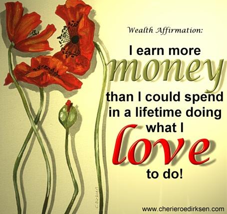 Money Affrimation 2