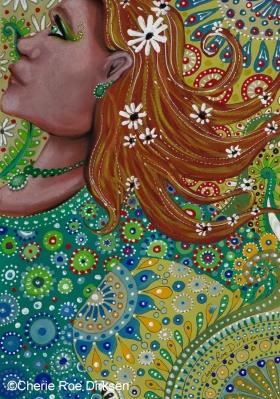Ginger Goddess by Cherie Roe Dirksen CLN