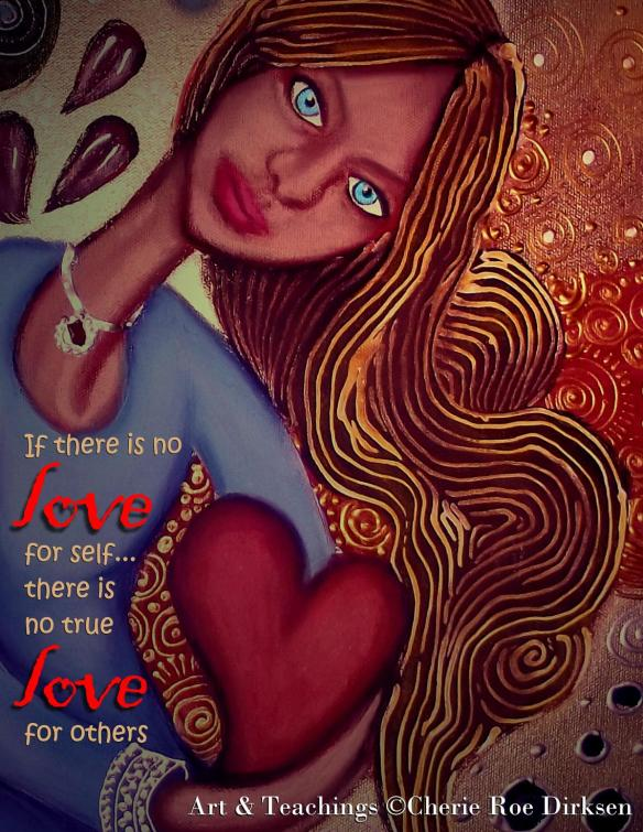The love for self quotation by Cherie Roe Dirksen