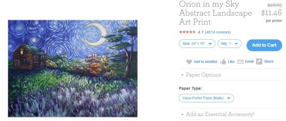 Orion in my Sky