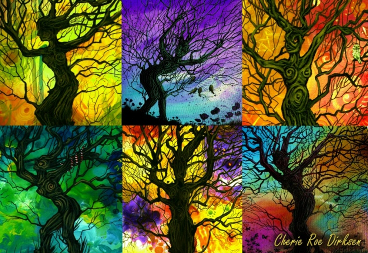 Tree of Life Collage Icon