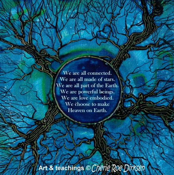 Tree of Life Quote by Cherie Roe Dirksen Lo res
