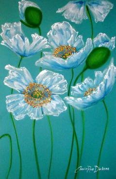 White Poppies by Cherie Roe Dirksen lr
