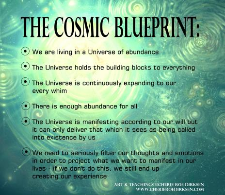 The Cosmic Blueprint by Cherie Roe Dirksen