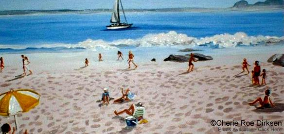 Beach Fun by Cherie Roe Dirksen