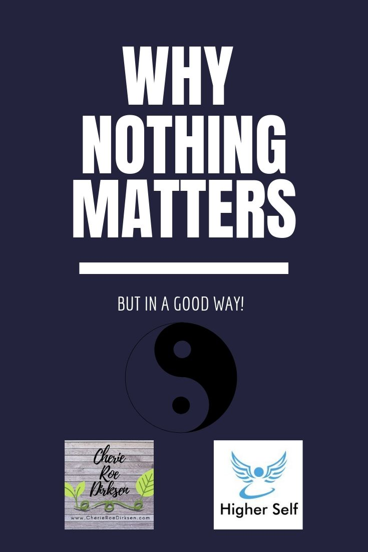 why nothing matters