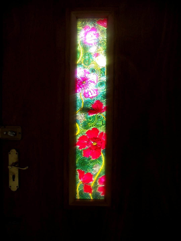 Inside of door