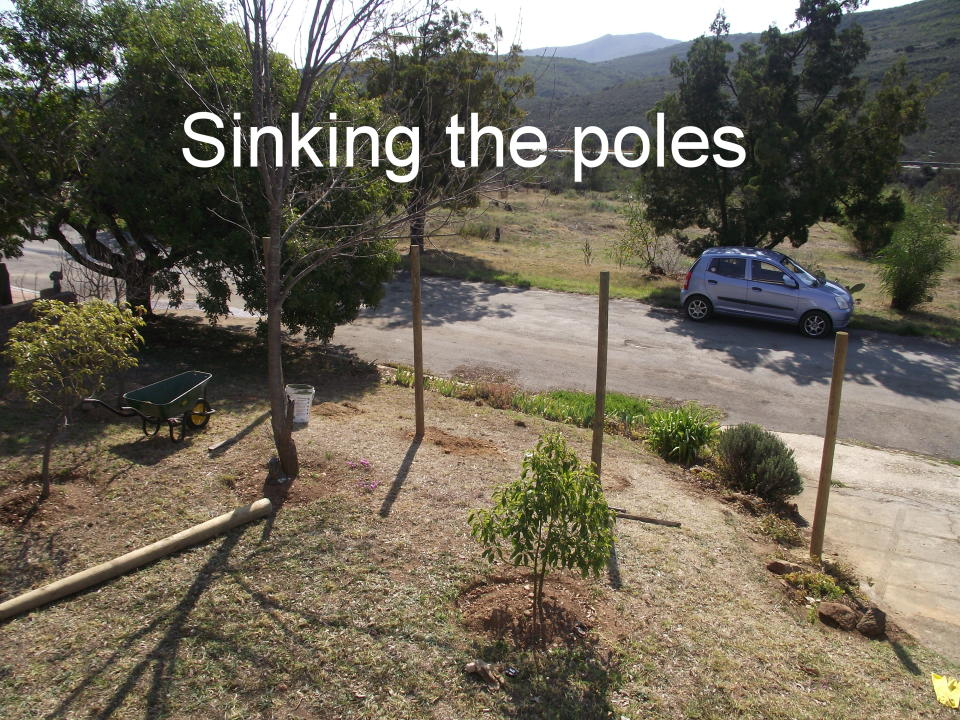 Sinking the poles
