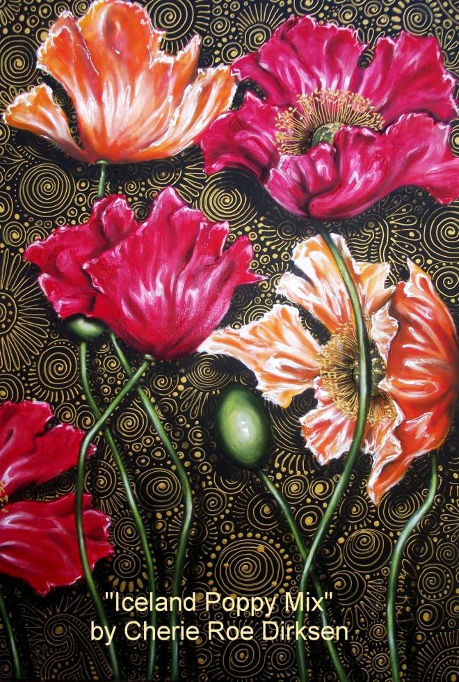Iceland Poppies by Cherie Roe Dirksen