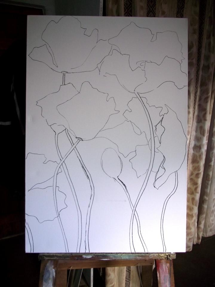 Painting Poppies - Photo 1