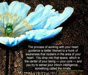 Heart Intelligence Quote by Cherie Roe Dirksen
