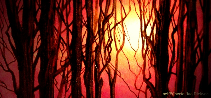 Moonlit Woods by Cherie Roe Dirksen 1