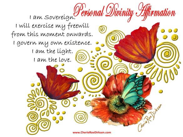 Personal Divinity Affirmation