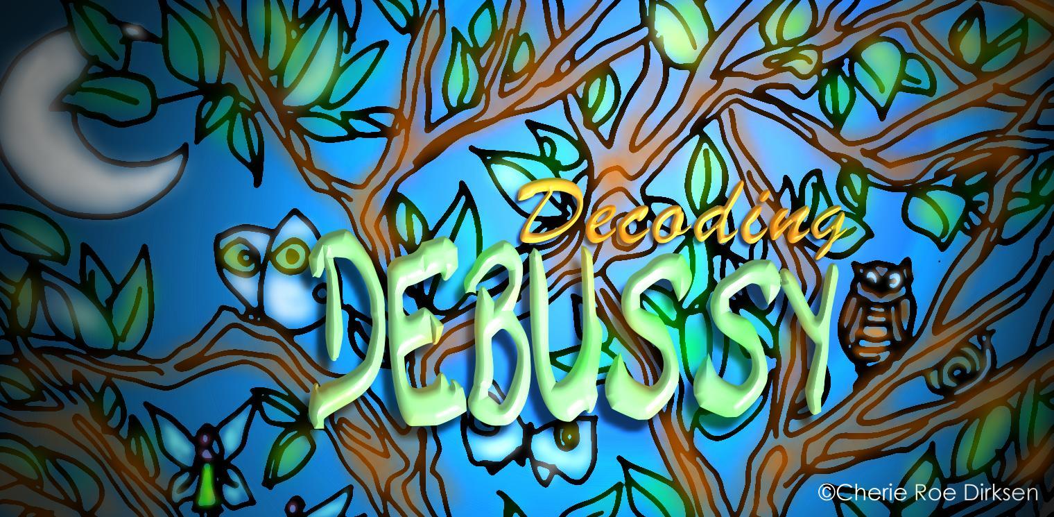 Debussy Header by Cherie Roe Dirksen
