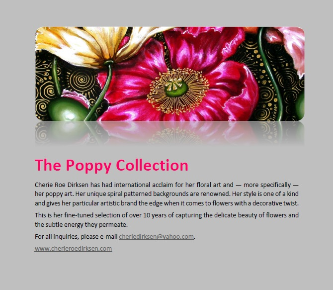 Poppy Collection Cover
