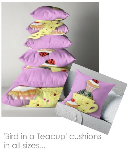 Bird cushions