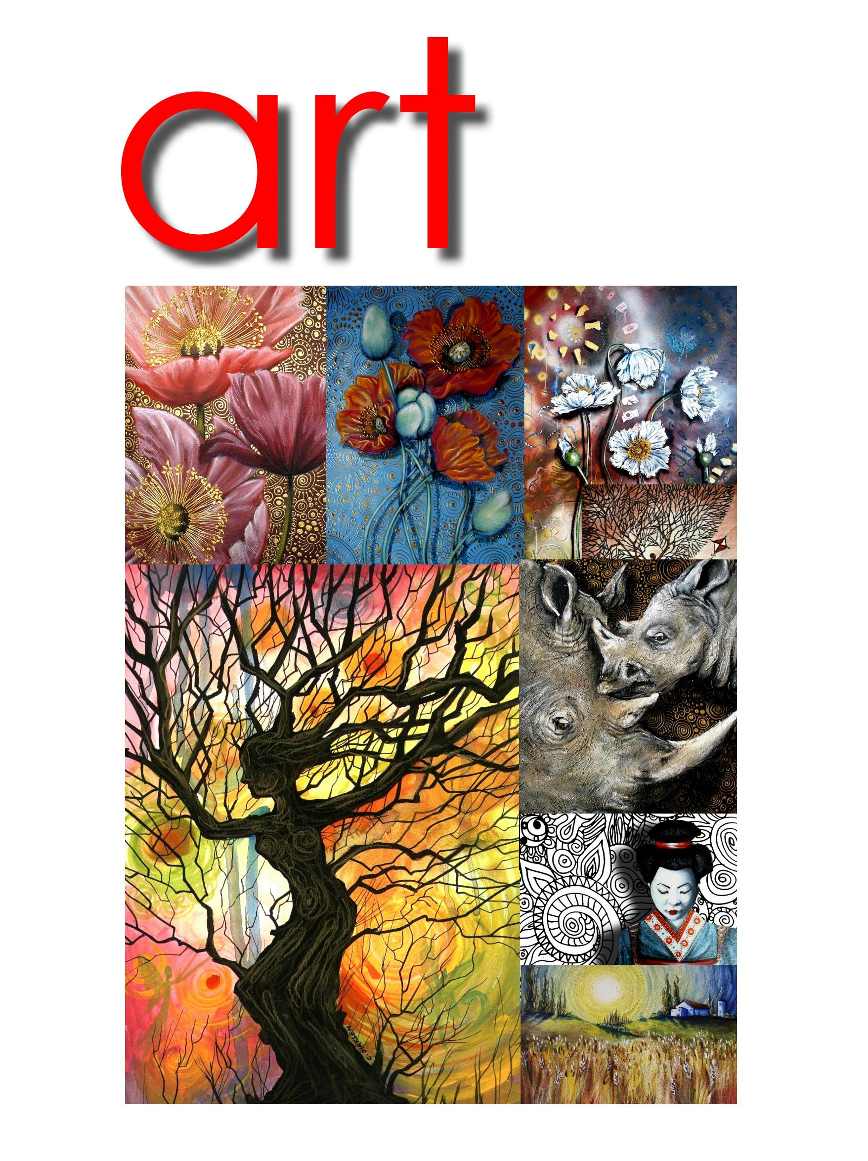 Artwork Collage Cherie Roe Dirksen