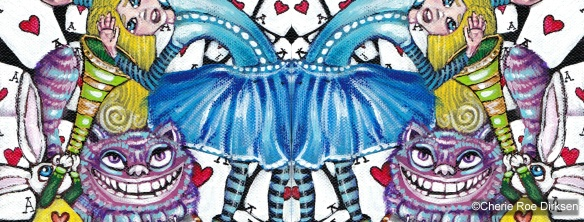Alice Down the Rabbit Hole Header