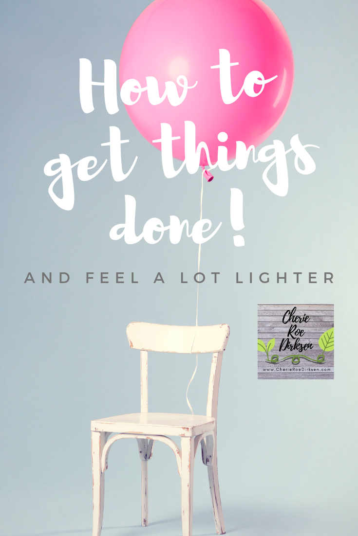 How to get things done picture
