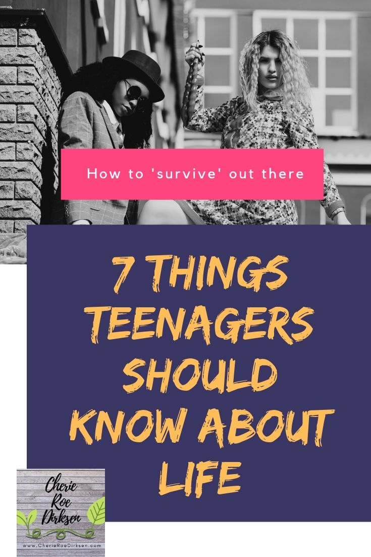 7 things teenagers should know PIN