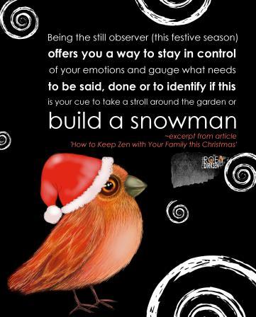 Christmas Zen Quote