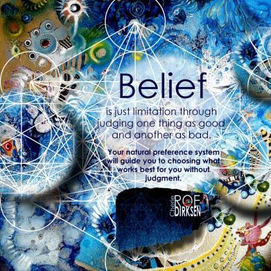 Limitation through Belief Quote