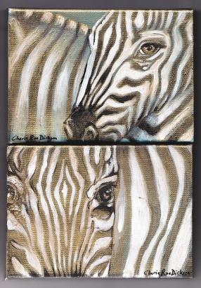 2 x zebras