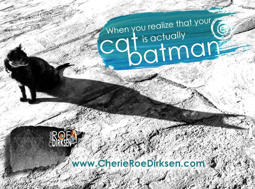 Batman Cat - Cherie Roe Dirksen