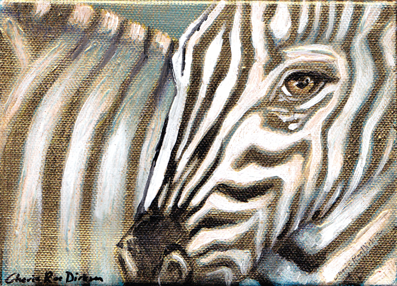 Gold Zebra 1